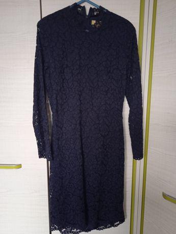 Sukienka z koronką H&M