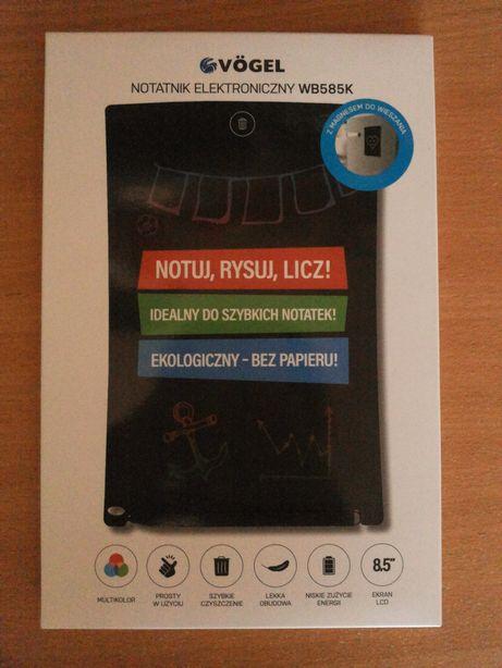 NOWY notatnik elektroniczny cyfrowy tablet do pisania Z PARAGONEM