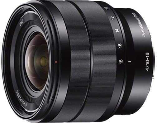 Obiektyw Sony E 10-18mm f/4 OSS (SEL1018)