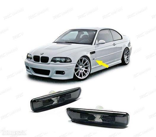 PISCAS LATERAIS / BMW E46 / 98-01 ESCURECIDOS