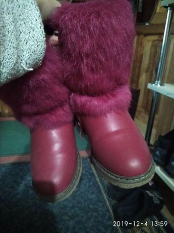 Чобітки, чоботи зимові