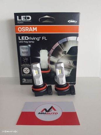 Lampadas LED H8/ H11/ H16 OSRAM LEDriving