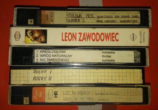 Stare kasety wideo