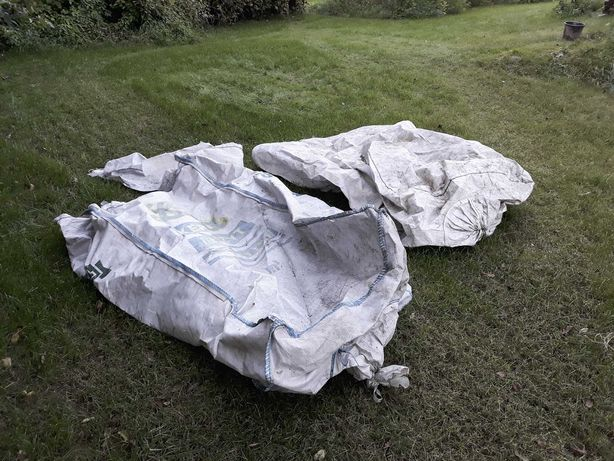 big bag 2 szt ( 2m3 i chyba 1,5 m3)