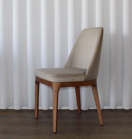 Cadeira com tecido ( 1 unidade )