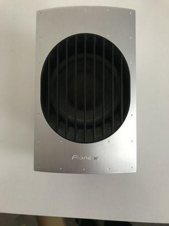 5 Alto-falantes Pioneer S-SP40. acabamento de alumínio, 80w cada