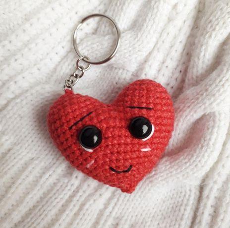 Brelok serce na Walentynki i nie tylko Rękodzieło