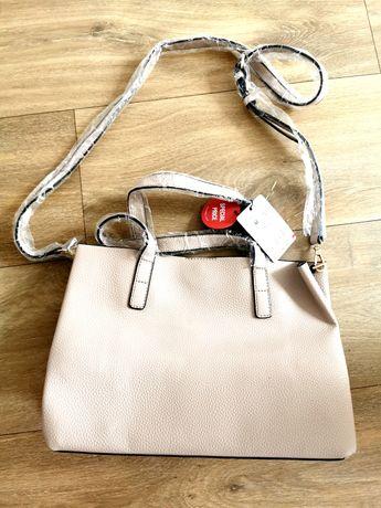 Nowa mała torebka shopper Mango