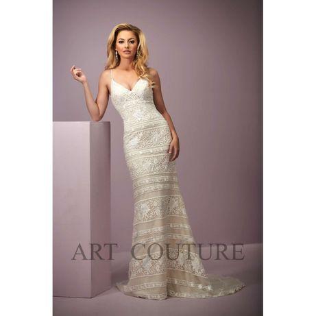 Suknia ślubna w stylu Boho ART COUTURE