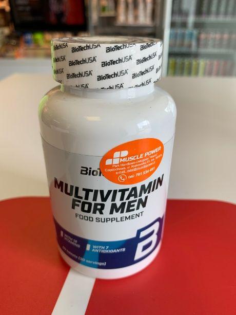 BioTech USA Multivitamin For Men - 60tabs kompleks witamin i minerałów