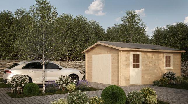 Garaż drewniany - JÓZEF 470x570 24m2