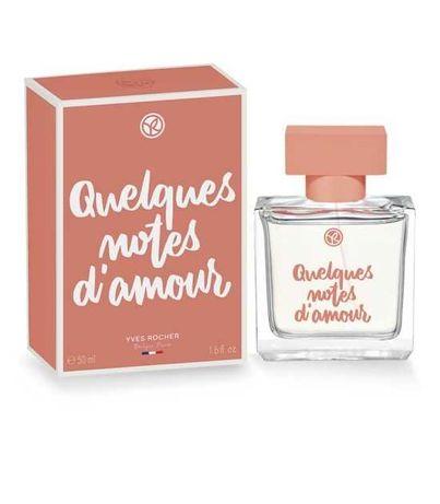 Парфюмированная вода Quelques Notes d'Amour Yves Rocher ив роше, 50 мл