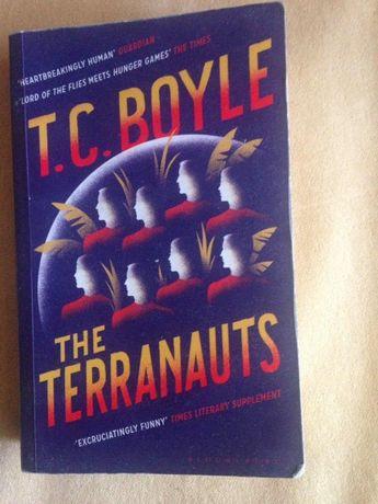 """T.C. Boyle """"The Terranauts"""", книга на английском"""