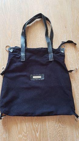 Oryginalna super pojemna torba czarna