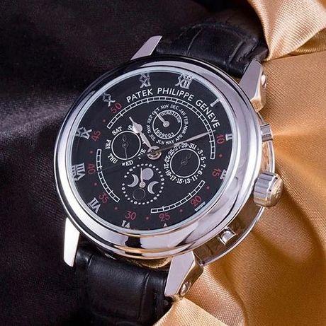 Новые! Стойкие часы Patek Philippe Tourbillon Sky Moon. Механика!