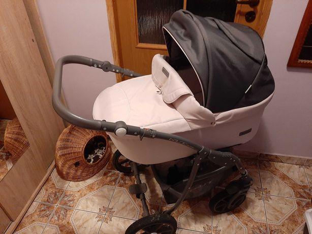 Wózek 2w1 Riko Basic Pastel Pink