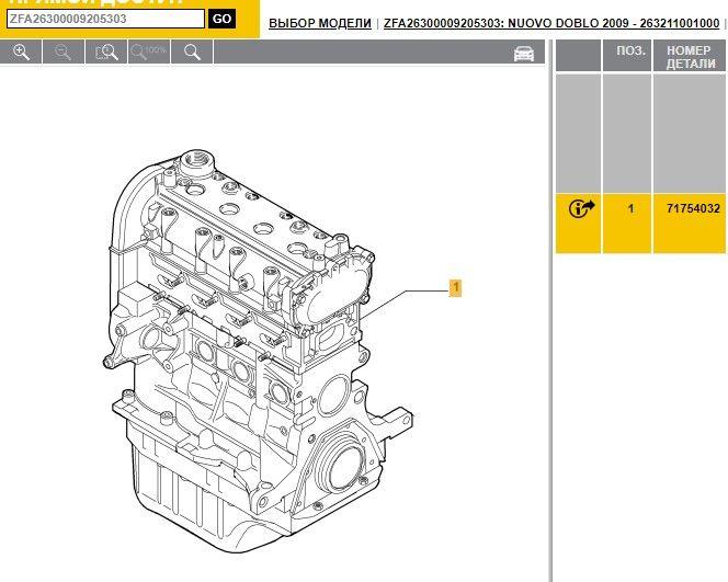 Двигатель Fiat Doblo 1.4і бензин 2012 16 клапанов Умань - изображение 1