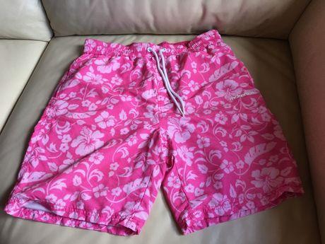Wyprzedaz szafy! mckenzie spodenki kąpielówki męskie L różowe hawajki