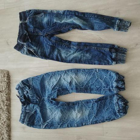 Spodnie chłopience jak nowe komplet
