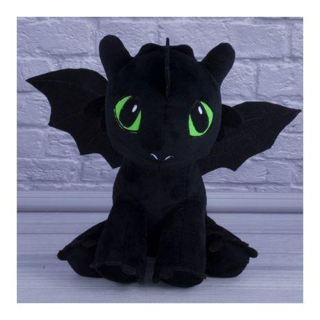 Мягкая игрушка Дракон Беззубик или Дневная фурия Как приручить дракона