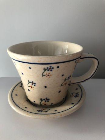 Filiżanka ceramika Bolesławiec Nowa