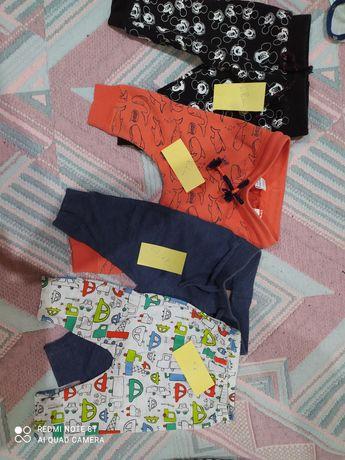 Spodnie i półśpiochy chłopięce