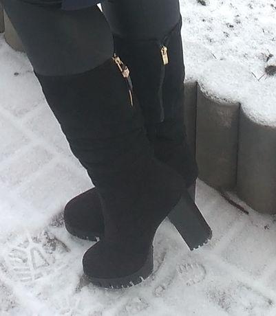 Сапоги зимние