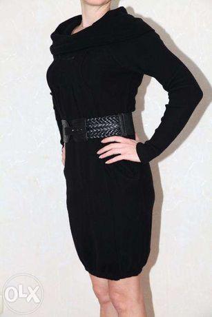 Платье Colins с поясом р. S/M
