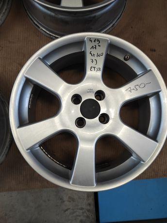 419 Felgi aluminiowe 4x100 R 17 Ładne