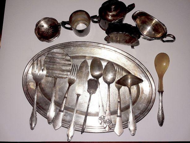 набор редкой немецкой старинной посуды Wellner