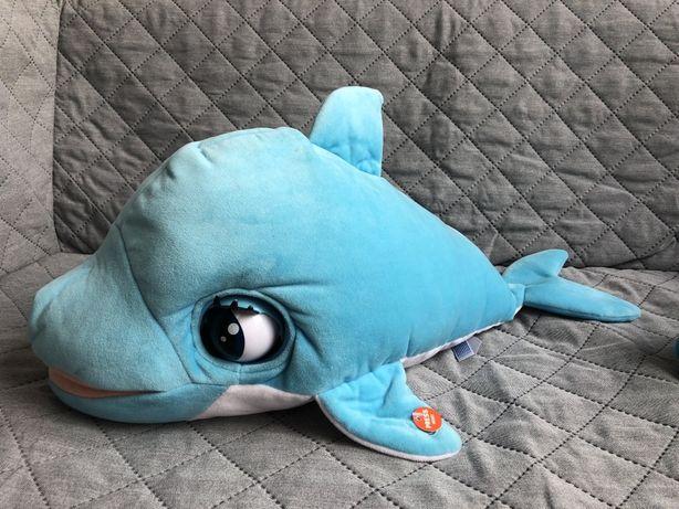 Delfin Blu Blu maskotka interaktywna