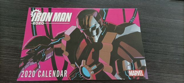 Marvel Kalendarz 2020 Iron Man Spider-Man Hulk