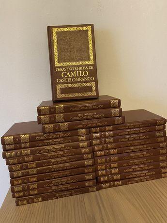 Coleçao de livros Camilo Castelo Branco