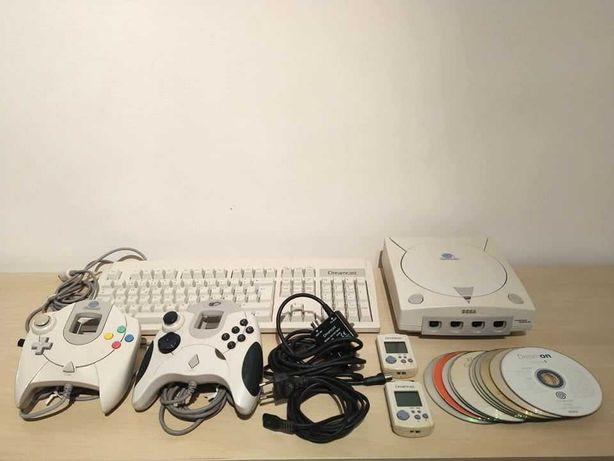 Conjunto SEGA Dreamcast