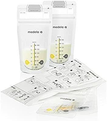 Пакеты для хранения грудного молока Medela, 93шт