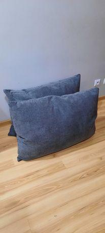 Nowe poduszki duże firmy BEST 80/60cm kolor szary plamoodporne