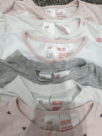 Piżamki rozmiar 86 firmy H&M