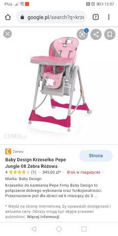 Krzesełko do karmienia dla dziecka