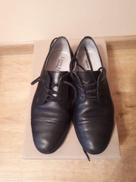 Buty chłopięce ze skóry rozm.32