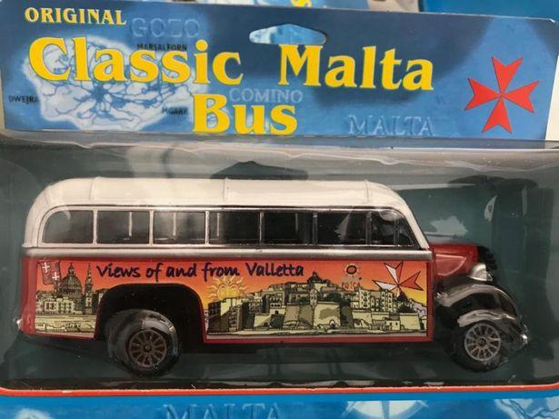 Classic bus da ilha de malta