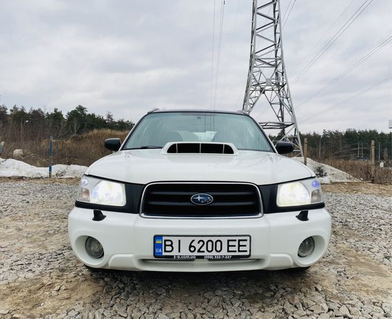 Subaru Forester STI 2.5 turbo 250 - 350 л. с.