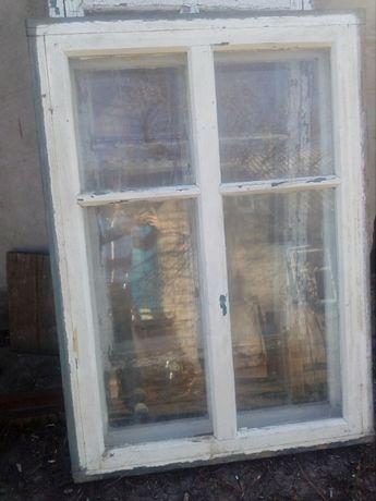 Окна деревянные, двойные