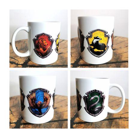 Harry Potter kubek z gryffindor slytherin huffelpuff ravenclaw