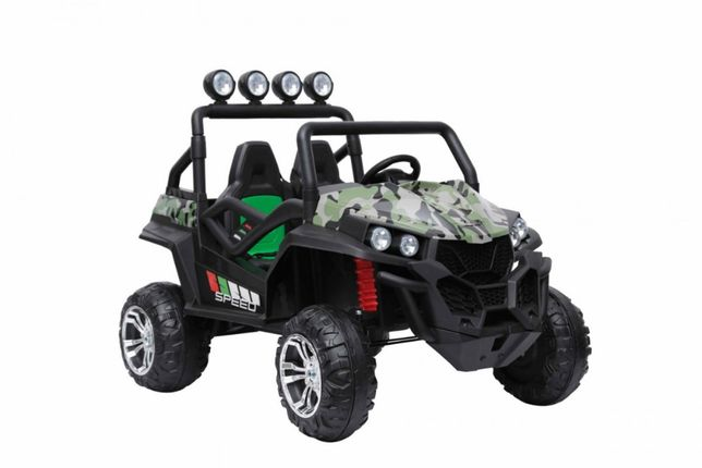 Duż Pojazd na akumulator Jeep Grand Buggy 4x4 LIFT s2588