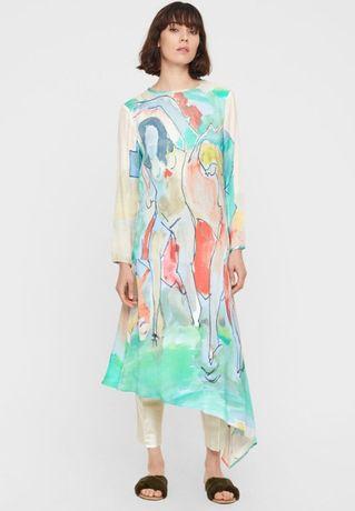 Ręcznie malowana sukienka rozm. 34