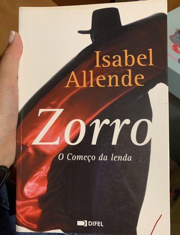 Livro Zorro - O comeco da lenda