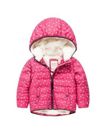 Курточка зимова на дівчинку Star