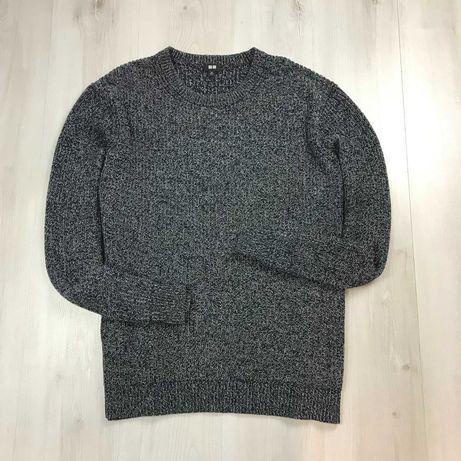 XL XXL Свитер UNIQLO вязанный кофта свитер худи свитшот крупная вязка