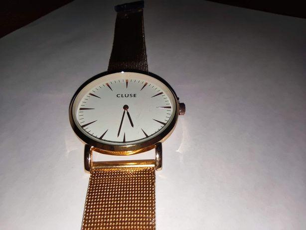 Zegarek różowe złoto unisex damski męski