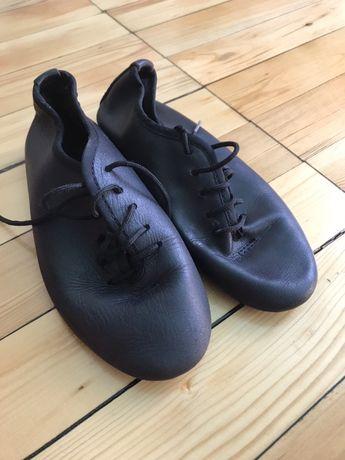 Туфли танцевальные без каблука